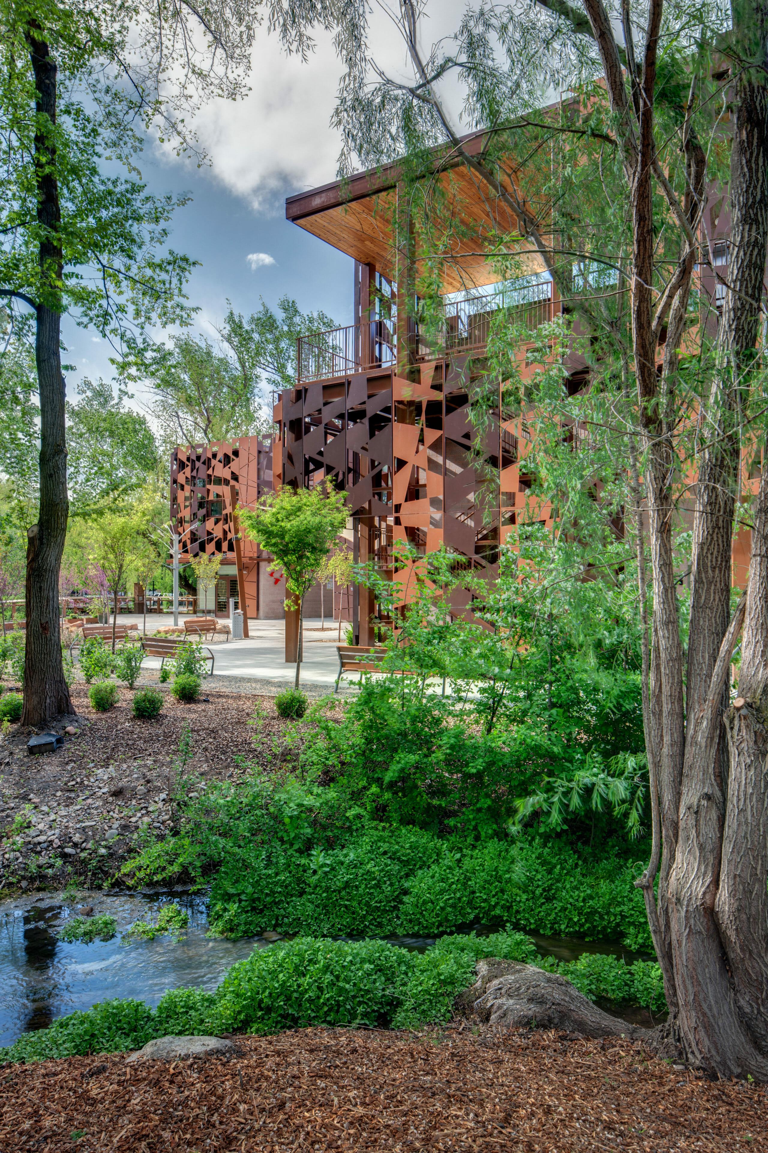 tracy aviary visitors center ajc architects