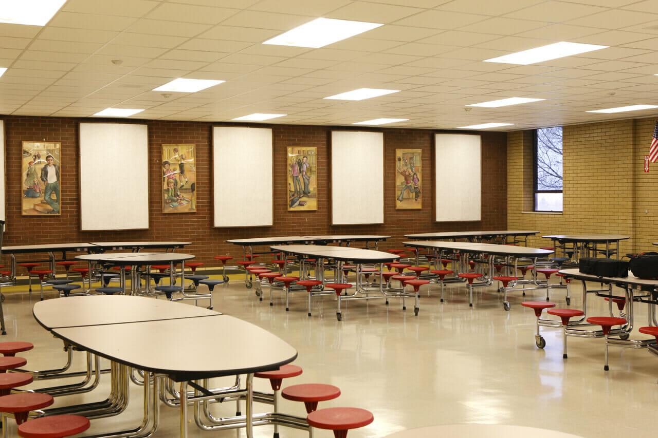 School Cafeteria Kitchen ~ Sunset junior high school kitchen and cafeteria renovation