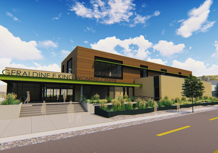 Commission approves plan's for Geraldine E. King women's resource center in Salt Lake City