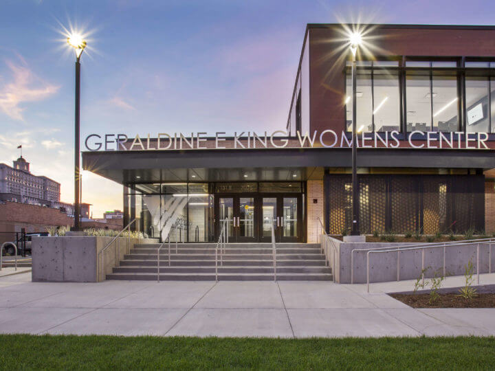 ajc designed Geraldine E. King Resource Center featured in Utah Style & Design Magazine