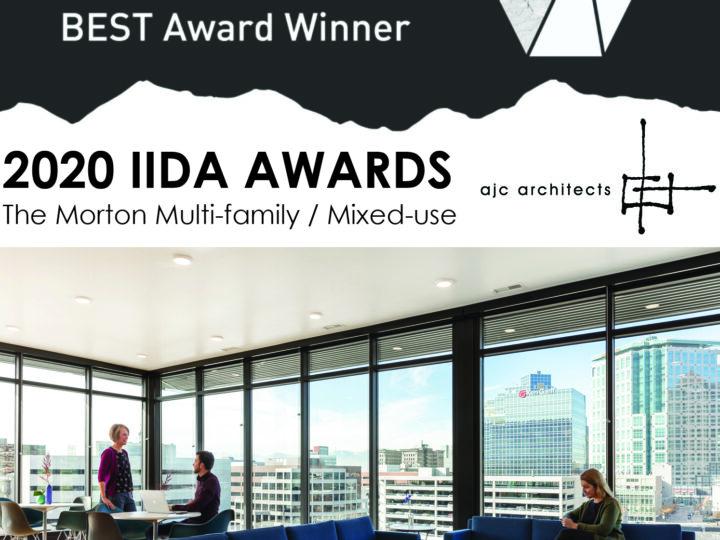 The Morton 2020 IIDA BEST Award Winner | Live-Multi-family/Mixed-use